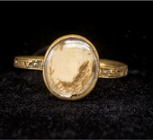 mid-eighteenth century mourning ring